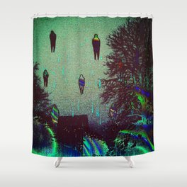 sound (e)scapes Shower Curtain