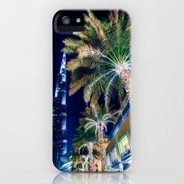 Dubai Night iPhone Case
