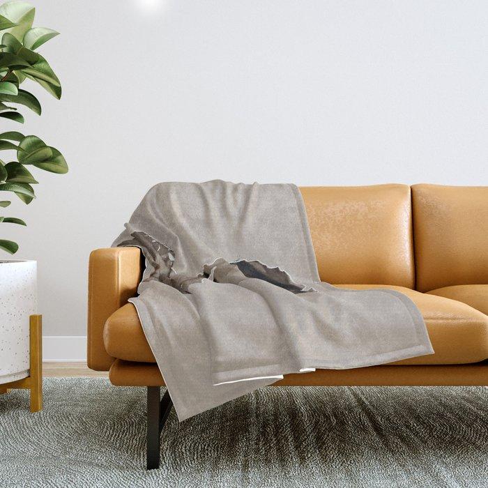 FRIDA - SHIRT version - sepia Throw Blanket