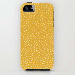 YELLOW DOTS iPhone Case
