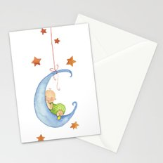 Baby moon Stationery Cards