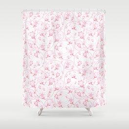 Winnie's Flower Garden Shower Curtain
