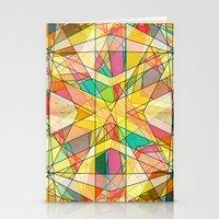 kaleidoscope Stationery Cards featuring Kaleidoscope by Tammy Kushnir