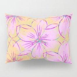 Flower Sketch Pillow Sham