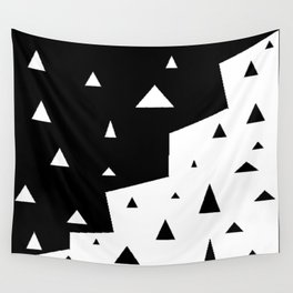 black triangle Wall Tapestry