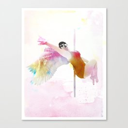 Poel Angel Canvas Print