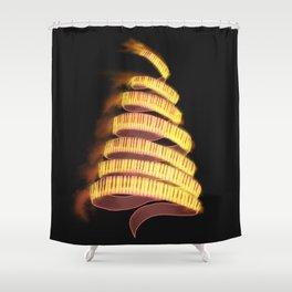 La Campanella by Franz List, illustration Shower Curtain