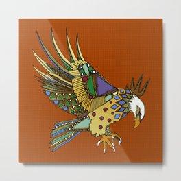 jewel eagle rust Metal Print