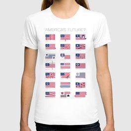 America's Future? Poster T-shirt
