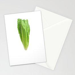 Veggie Please Romaine Calm Lettuce Stationery Cards