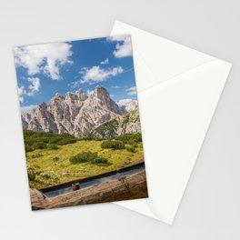 Three Peaks of Lavaredo - Sexten Dolomites Italy Stationery Cards