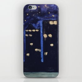 Haute Blue Night iPhone Skin