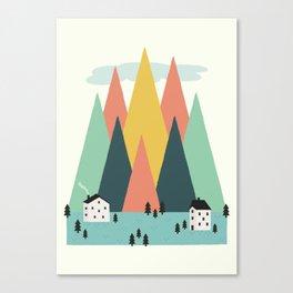 The High Mountains Canvas Print