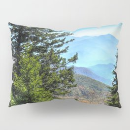 Blue Ridge Mountains North Carolina Pillow Sham