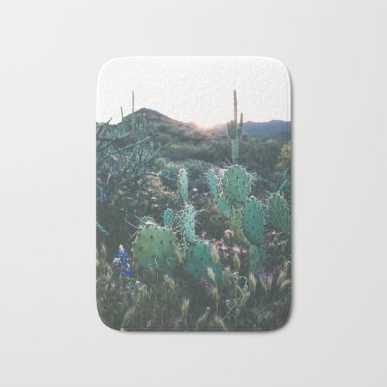 Arizona Cactus Bath Mat