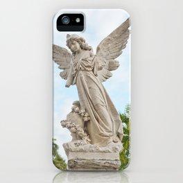 Necropolis Graveyard Statue Broken Angel Marble Cuba Island Carving Art Icon Christian Saint Holy Go iPhone Case