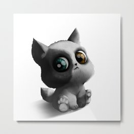 Lovely Dog Puppy Metal Print