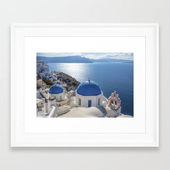 Santorini island in Greece by ibphotos