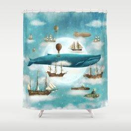 Ocean Meets Sky - revised Shower Curtain