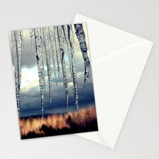 Icicles II Stationery Cards