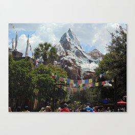 Disney's Animal Kingdom Everest 3 Canvas Print