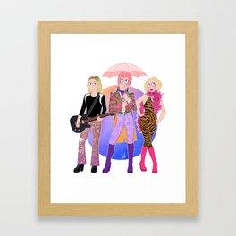 Velvet Goldmine Framed Art Print