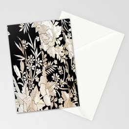 Black and White Flowers by Lika Ramati Stationery Cards