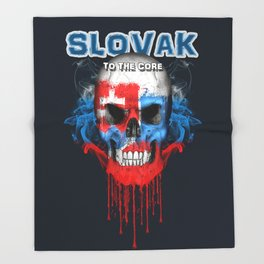 To The Core Collection: Slovakia Throw Blanket