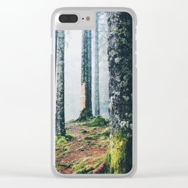 Engulfed by Trees Clear iPhone Case