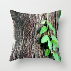 Wrinkles in Nature Throw Pillow