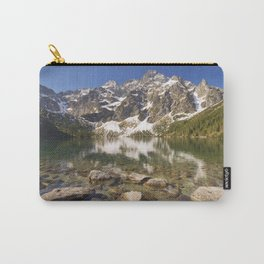 Morskie Oko lake in the Tatra Mountains, Poland Carry-All Pouch