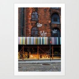 Love. Dumbo Brooklyn Art Print