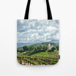 Vineyards, Temecula, CA Tote Bag