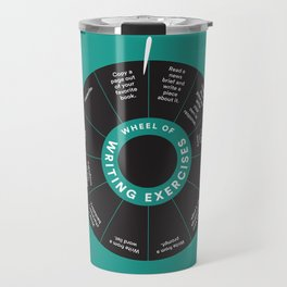 Wheel o' Writing Exercises Travel Mug