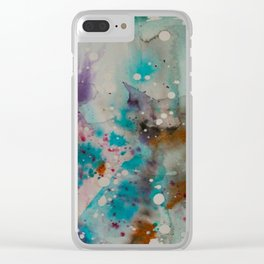 Haunt You Every Day Clear iPhone Case