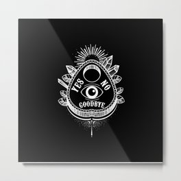 Call Me On the Ouija Board Metal Print