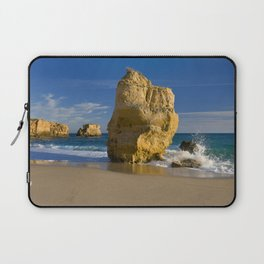 Rock formations, Albufeira, Portugal Laptop Sleeve