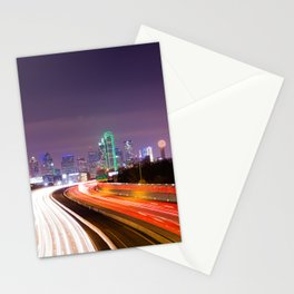 The Road to Dallas Stationery Cards
