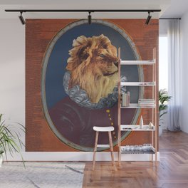 GENTRIFIED BOURGEOIS LION Wall Mural