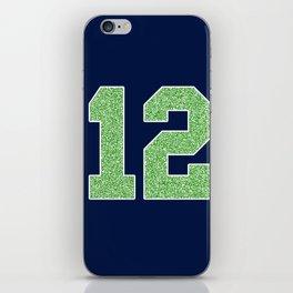 12th Man iPhone Skin