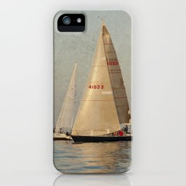 Calm Seas iPhone Case