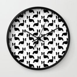 I love my Border Collie Wall Clock