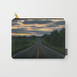 Just standin' in the middle of a country road and watchin' the sun set... Carry-All Pouch