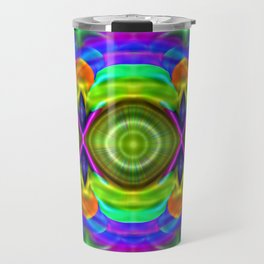 Where rain, there rainbows ... Travel Mug