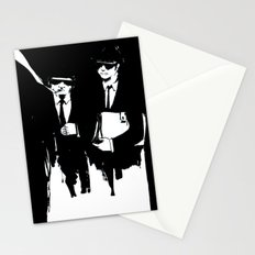 blues brothers Stationery Cards