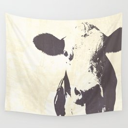 Rustic Cow Wall Tapestry