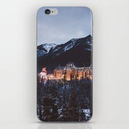 Banff Springs Hotel II iPhone Skin