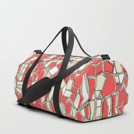 BROKEN POP coral Duffle Bag