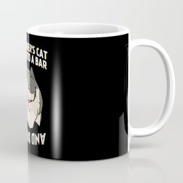 Schrodinger's Cat Walks Into A Bar gift idea Coffee Mug