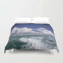 Emerald Coast  Duvet Cover